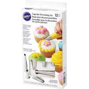 12 Piece Cupcake Decorating Set