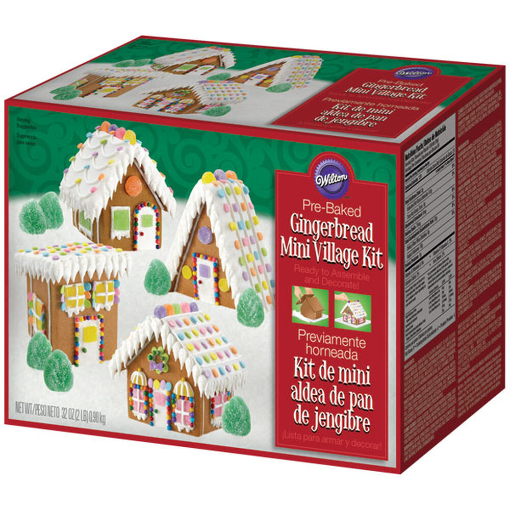Mini Village Gingerbread Wilton