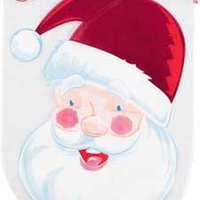Shaped Santa with Drawstring Party Bags