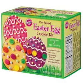 Pre-Baked Easter Egg Cookie Kit