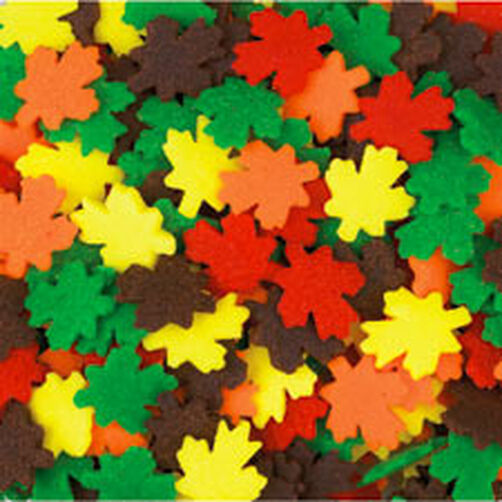 Jumbo Leaves Mix Sprinkles