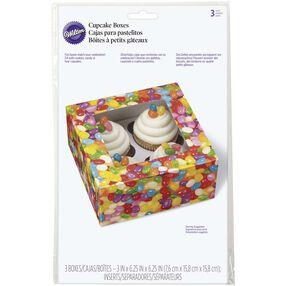 Jelly Bean Cupcake Treat Boxes