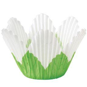 White Petal Baking Cups