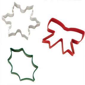 Holiday 3pc. Cookie Cutter Set