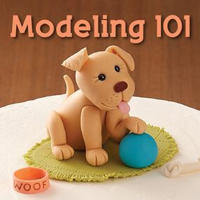 modeling 101 - Wilton Cake Decorating Classes