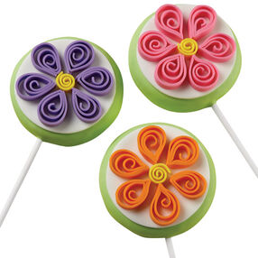 Thrilling Quilling Cookie Pops