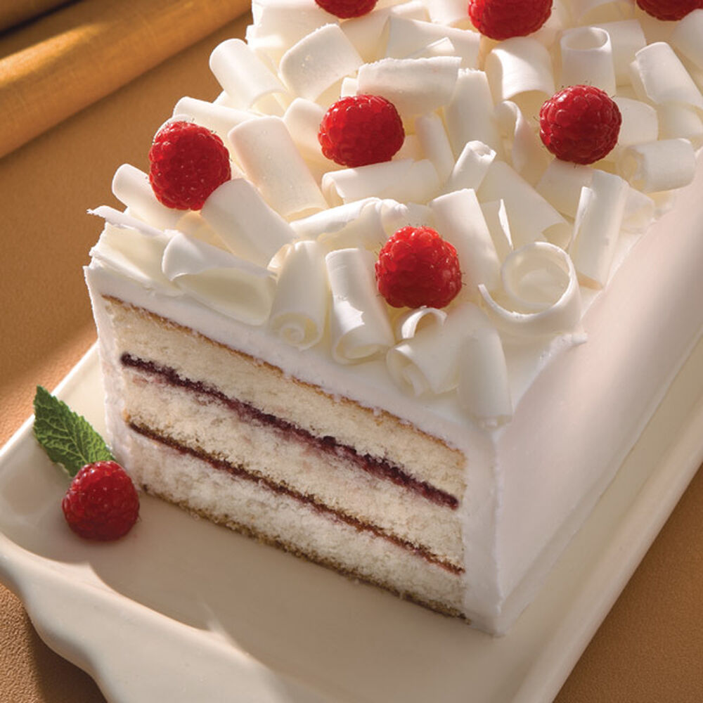 Raspberry White Chocolate Cake Recipe Wilton