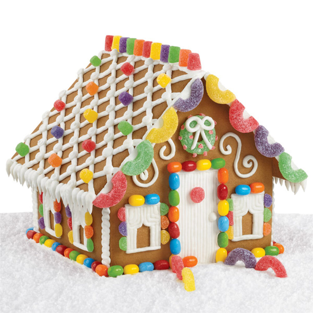 Ideas for a gingerbread house - Sweet And Simple Gingerbread House Zoom