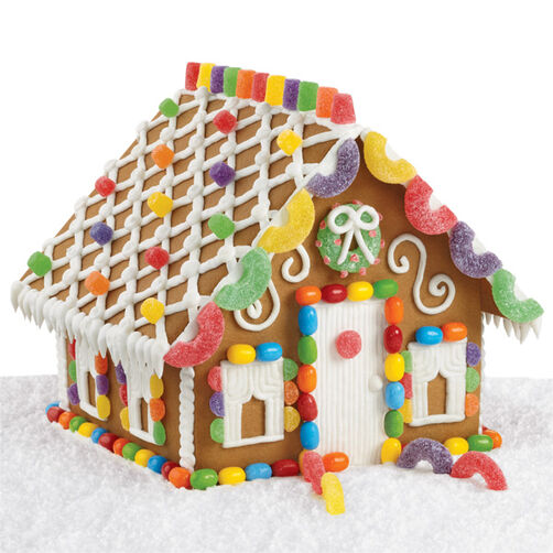 Simple Gingerbread House Recipe: Sweet And Simple Gingerbread House