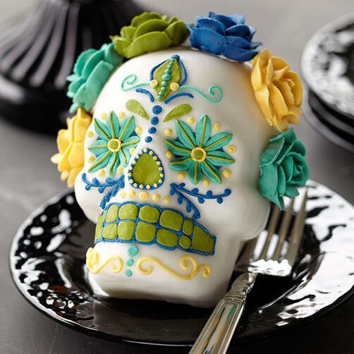 Day Of The Dead Mini Cakes Wilton