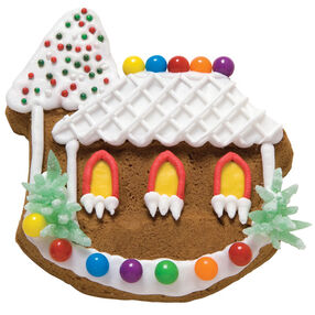 Cape Cod Gingerbread Cookie House