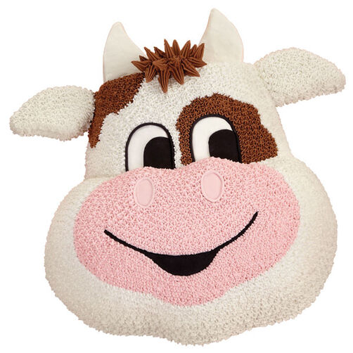 Moo-vie Star Cow Cake