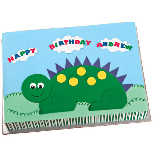 Birthday Creature Feature Cake