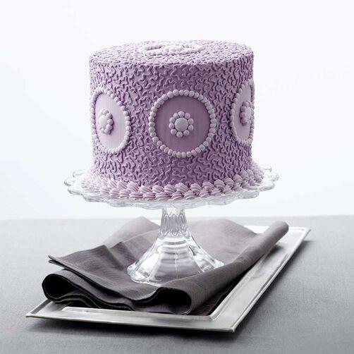 Cake Decorating Cornelli Lace : How to Pipe Cornelli Lace Wilton
