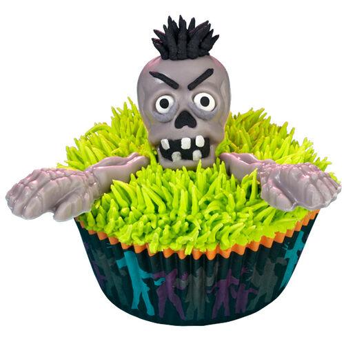 Graveyard Ghoul Cupcakes