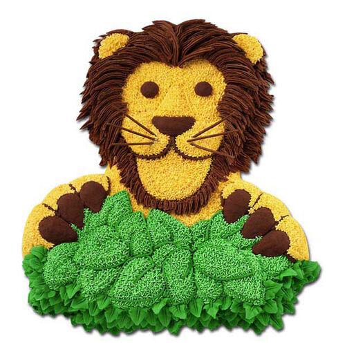 Lion in Wait Cake