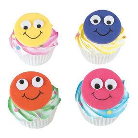 Neon Noggins Cupcakes