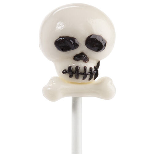 Bone Chillin? Skull Cake Pops