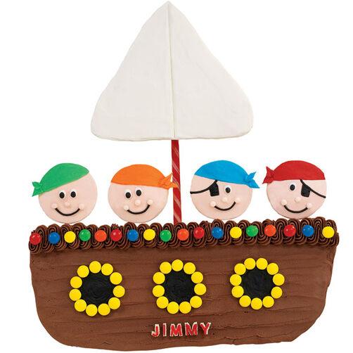 High Seas Adventurers Cupcakes