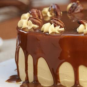 Pumpkin Caramel Torte