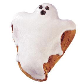 Gooey Ghost Cinnamon Rolls
