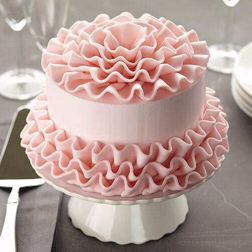 Как украсит торт в домашних условиях мастикой фото