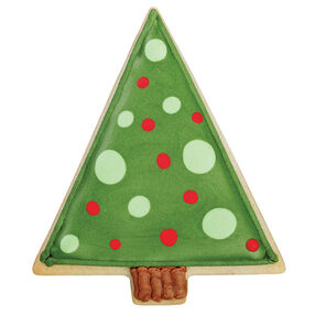 Pop-Art Christmas Tree Cookie