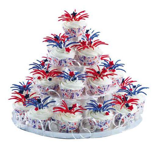 Bursting Into Air Cupcakes