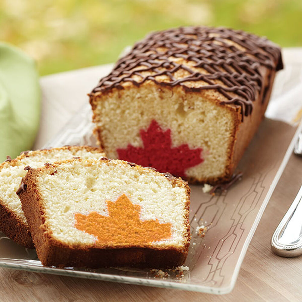 Leaf Inside Loaf Cake Wilton