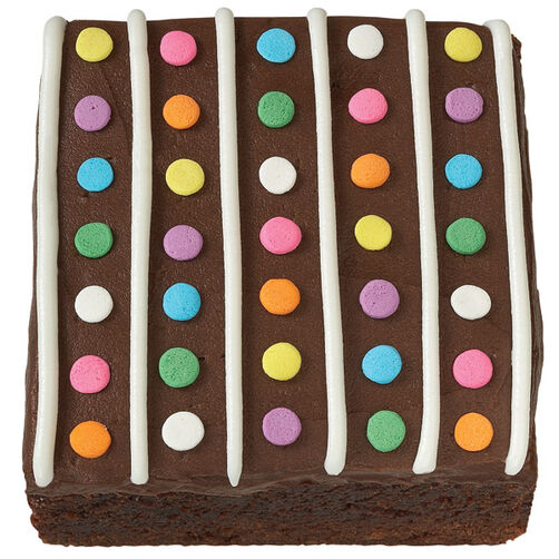 Neon Nibbles Brownies