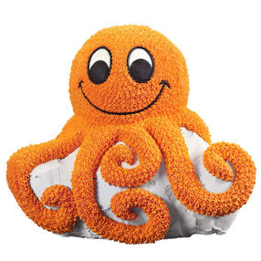 Octopus Parties with Us! Cake
