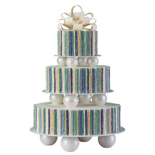 Pinstriped Panache Cake