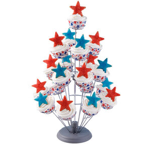 Stars Bursting In Air Cupcakes
