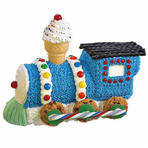 Train Engine Cake