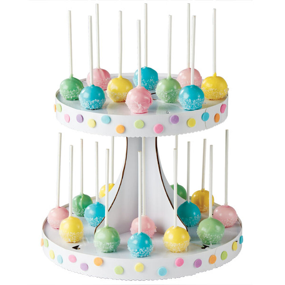 Pastel Pops Seeing Spots Cake Pops Wilton
