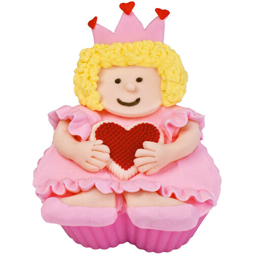 Queen of Hearts Cupcake