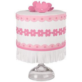 Flowers and Fringe Cake