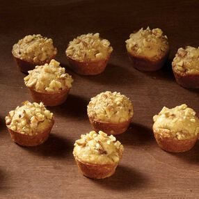 Banana Bread Recipes - Mini Walnut Banana Bread Muffins