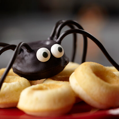 Surprised Spider Mini Donuts