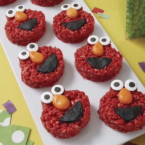 Cereal Treat Elmo Snack