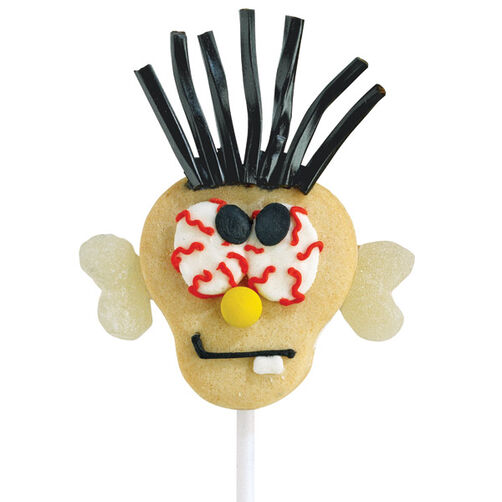 Cross-Eyed Cookie Pops
