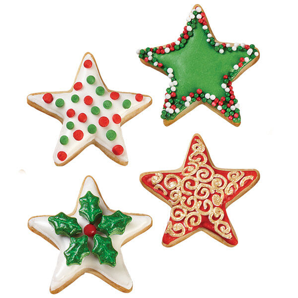 Christmas Star Cookies | Wilton