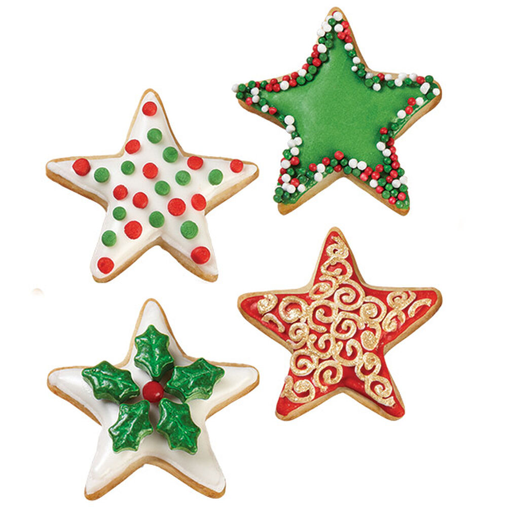 christmas star cookies wilton
