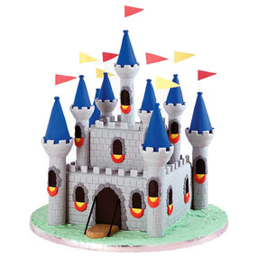 Medieval Fortress Castle Cake