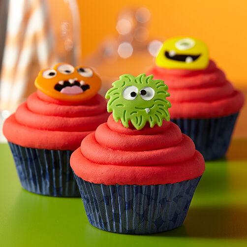 Monster Mayhem Cupcakes