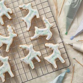 Prancing Reindeer Cut-Out Cookies