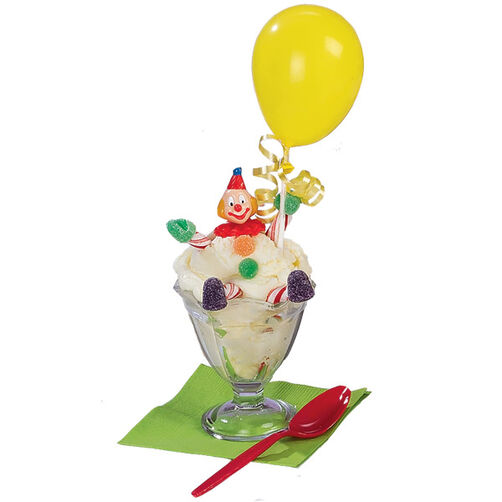 Clowns Keeping Cool Ice Cream Sundae