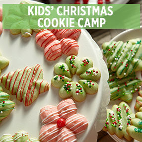 Kids' Christmas Cookie Camp