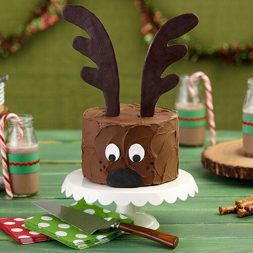 Christmas Reindeer Cake Wilton