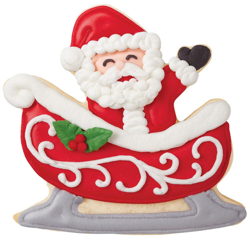 In The Sleigh Santa Cookies Wilton